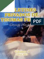 EL MORYA (PRINTZ, Thomas) - Cartas de Shamballa I