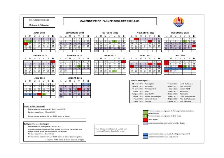 Calendrier Universitaire Strasbourg 2022 2023 Calendrier Scolaire 2022 2023 | Pâques | Noël