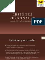 1 Informe de Lesiones Personales DERECHO