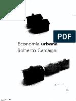 2005 Economia Urbana Roberto Camagni