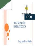 Microsoft PowerPoint - Planeación Estratégica