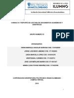 Consolidado Procesos Industriales - Primer Entrega