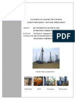 Statement of Construction Method - PACKAGE J - Expansion of Wastewater Treatment Plant (Repaired2)