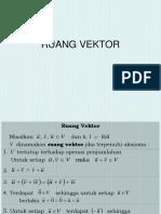 Materi Ruang Vektor
