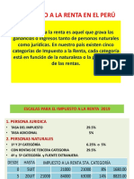 14.- IMPUESTO A LA RENTA PERU 2019