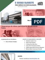 BOAS PRÁTICAS 2019 SEGURANÇA DO IDOSO ATIVIDADE FÍSICA