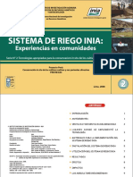 Sistema Riego Lima 2008