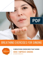 5 Free Breathing Exercises for Singing