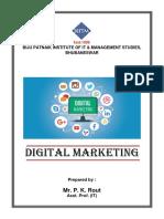 Digital Marketing Module - I