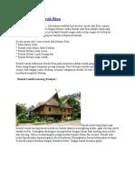 Rumah Adat Daerah Riau