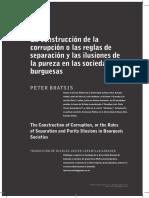 Dialnet-LaConstruccionDeLaCorrupcionOLasReglasDeSeparacion-4781388