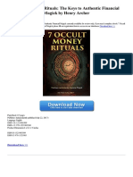 7 Occult Money Rituals the Keys to Authentic Financial Magick