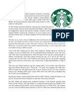 Starbucks Term project