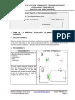 Formato Para Informes Tecno Circuitos Reles