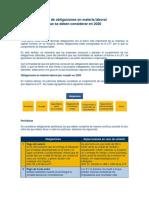 Guía de Obligaciones en Materia Laboral
