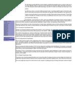 Traffic Parameter Definitions