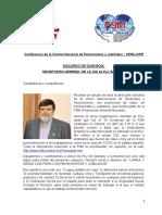 Discurso de Quim Boix El 19-11-19-en la Conferencia Nacional de CENAJUPE