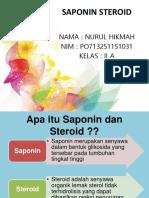 SAPONIN STEROID.pptx