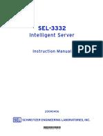 SEL3332 Intelligent Server