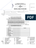 dental form2021