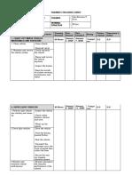 Training Progress Sheet on SWBL