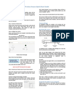 Proteus Sensor Quick Start Guide