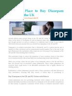 Buy Diazepam UK