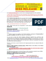 20191218-PRESS RELEASE Mr G. H. Schorel-Hlavka O.W.B. ISSUE - Re Suppl-77-Detention v Punishment