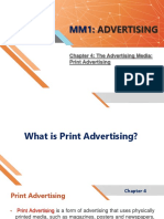 Mm1 Advertising Chapter 4 Print Ads
