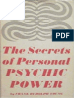 the Secrets of Personal Psychic Power