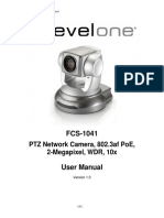 LevelOne FCS-1041 PTZ