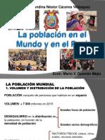 La población en el mundo y en el Perú
