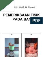 1. Pemeriksaan Fisik BBL 1