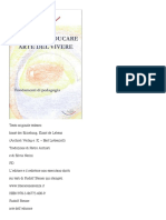RUDOLF STEINER - ARTE DELL EDUCARE