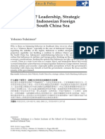 98865_2019-Sulaiman-What Threat-Leadership, Strategic Cultre and Indonesian Foreign Policy