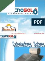 Calentadores Solares General