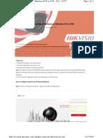 How to configure Multicast on Hikvision DVR or NVR - SCC - CCTV