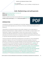 Schizophrenia in adults_ Epidemiology and pathogenesis - UpToDate.pdf