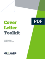 Toolkit Cover Letter