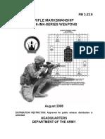 18588151 FM3229 Rifle Marksmanship No Changes Aug 2008
