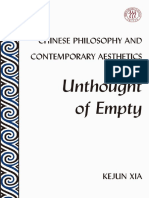 Xia Kejun, Chinese Philosophy and Contemporary Aesthetics, Unthought of Empty,  Peter Lang,  2020.pdf
