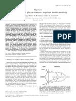 Insulin-Independent Glucose Transport Regulates Insulin Sensitivity