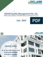 Safess Marketing Presentation