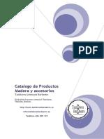 Catalogo Madera y accesorios Nov 2019