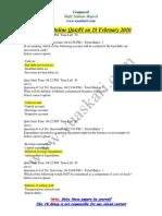 Financial Accounting - MGT101 Spring 2010 Quiz 1