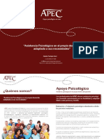 Dossier APEC Madrid