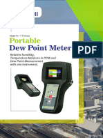 Portable Dew Point Meter Ci