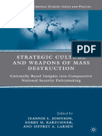 Strategic Culture and Weapon of Mass Destruction