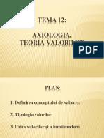 tema 12axiologia