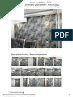 Montaj Tapet Dormitor Si Living- Renovare Apartament - Preturi 2020